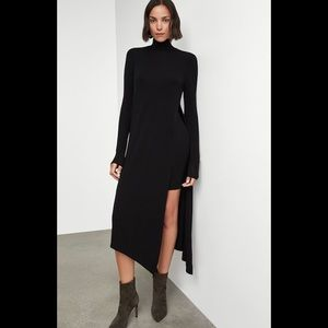 BCBGMaxAzria Kabrina Asymmetrical Turtleneck Dress